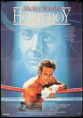 182 HOMEBOY German '89 Debra Feuer, cool Salmon art of tough Mickey Rourke