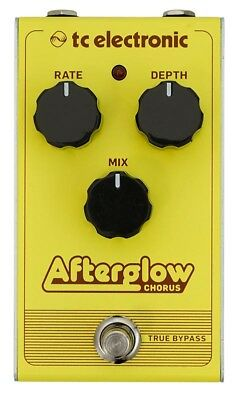 TC Electronic Afterglow All-Analog Chorus Guitar Effects Pedal