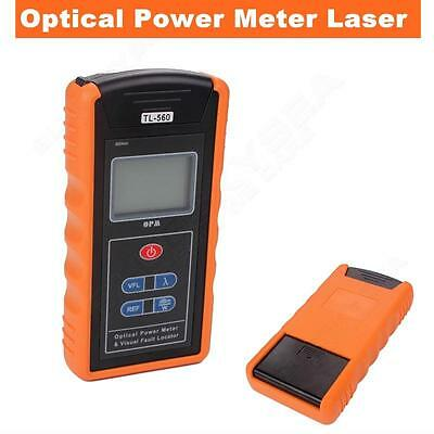 TL560 Optical Power Fober Meter + Visual Fault Locator 10mW All-in-One Tester