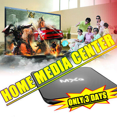 100% MXQ Quad Core Android KODI(XBMC) 16.0 Fully Loaded TV Box Free Sports Flims