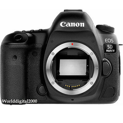 Canon EOS 5D Mark IV  5D Mark 4 Full Frame Only Body -25 Languages Selectable