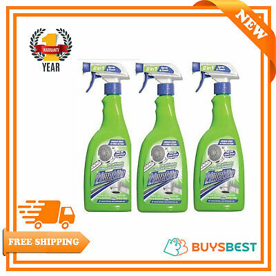 Pack of 3 x Limelite Ultra Bathroom Limescale Remover Power Spray 500ml