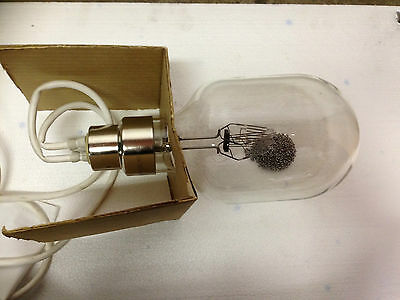 New 110 volt 10000 w cable socket tungsten incandescent bulbs New old stock