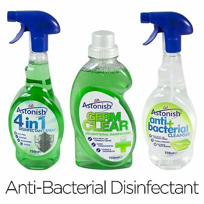 Disinfectant Anti-Bacterial Cleaning Supplies Concentrate Spray Germ Cleanser