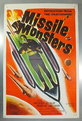Missile Monsters - Walter Reed - Original American One Sheet Movie Poster