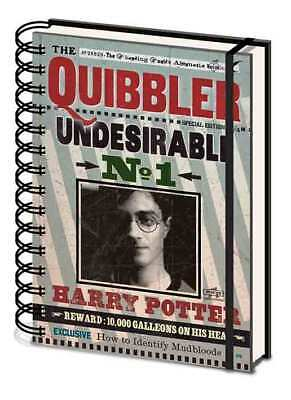 Harry Potter Undesirable No1 Notebook Notepad Journal Reward Poster The Quibbler