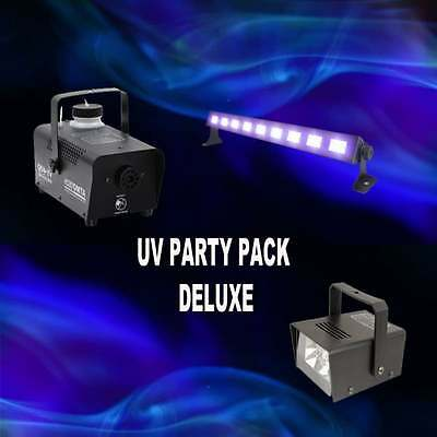Kam UV PARTY PACKAGE DELUXE / HALLOWEEN SPECIAL / SMOKE FLUID INCLUDED