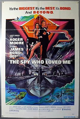 The Spy Who Loved Me - James Bond - Original American One Sheet Movie Poster