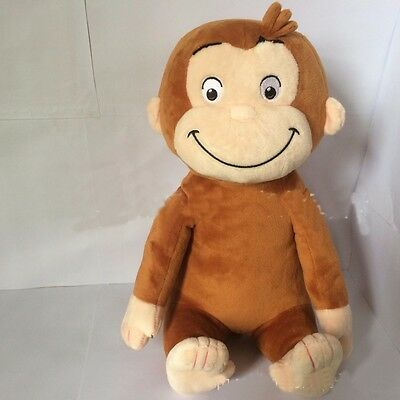 "12"" Curious George Plush Doll Monkey Plush Toy New"