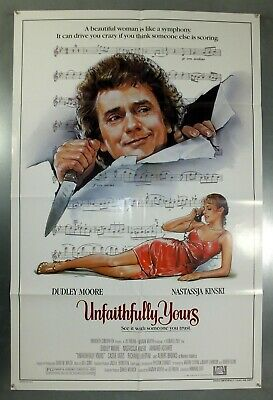 Unfaithfully Yours - Dudley Moore - Original American One Sheet Movie Poster
