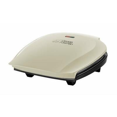 George 18873 Foreman 5 Portion Family Size Health Grill in Cream - Brand New UK