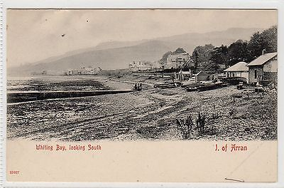 WHITING BAY LOOKING SOUTH: Isle of Arran postcard (C9202)