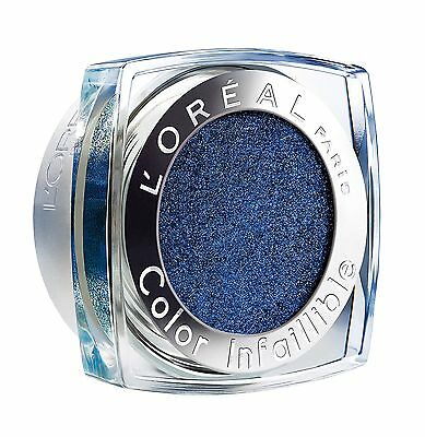 L'Oreal Color Infallible Eye Shadow, All Night Blue Number 006 3.5 g