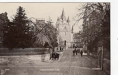 TOWER STREET, TAIN: Ross-shire postcard (C8582)