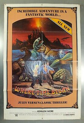 Where Time Began - Jules Verne - Original American One Sheet Movie Poster