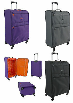 "X Large 31"" Super Lightweight Suitcase Luggage Trolley Bag 4 Wheel Spinner Case"