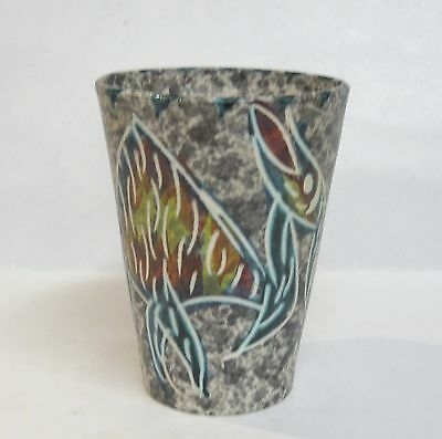 Yvan Borty Artist Ceramist  Vallauris French Art  Pottery Cup