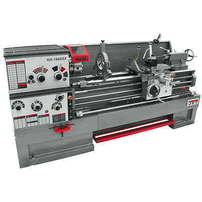 JET GH-1660ZX 16x60 LARGE SPINDLE BORE LATHE 321940 FREE Shipping!