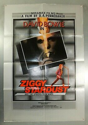 Ziggy Stardust And The Spiders From Mars - Original Uk One Sheet Movie Poster