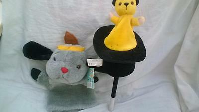 Sooty & Sweep Soft Toys Puppet & Pop Up Toy g25