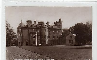 FINLAYSTONE HOUSE AND JOHN KNOX TREE, LANGBANK: Renfrewshire postcard (C10022)