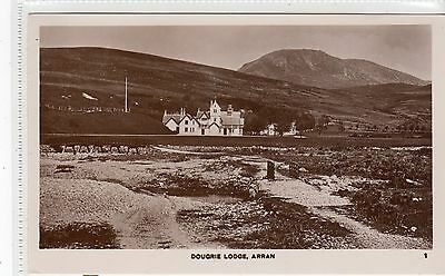 DOUGRIE LODGE: Isle of Arran postcard (C9548)