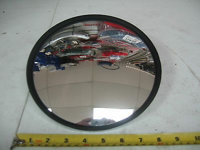 """Heavy Duty Commercial Semi Truck Side View Mirror 8-1/2"""" Round Excel # EM54880"""