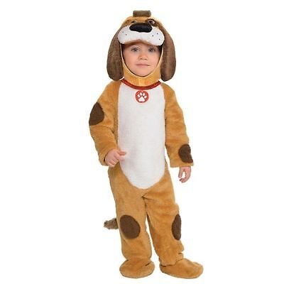 Toddlers Babies Playful Pup Puppy Dog Animal Zoo Farm Fancy Dress Costume Outfit