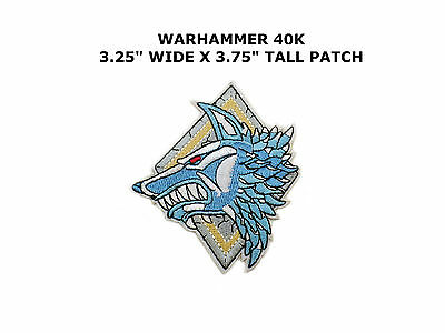 Warhammer 40K Space Wolves Patch- Game102
