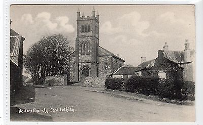 BOLTON CHURCH: East Lothian postcard (C10498)