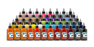 Starbrite Authentic  Tattoo Ink - Colors Group Set 1/2 oz