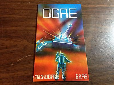 Ogre Microgame Metagaming 1977 with extra color maps