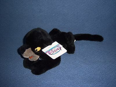 Jungle Book Bagheera NEW Stuffed Plush Doll Toy Animal Movie Disney Panther Cat