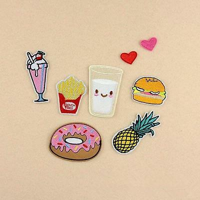 DIY Pineapple embroidered iron on patch sewn clothing applique stickers badges