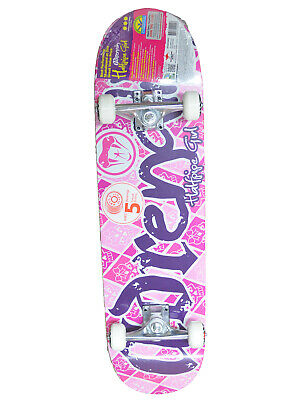 "ADRENALIN HALFPIPE GIRLS SKATEBOARD 31"" x 8""  - CREATED SPECIALLY FOR KIDS"
