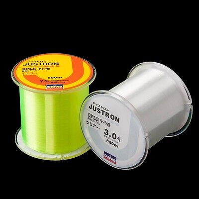 500m Nylon  Fishing Line Super Strong Durable Monofilament All Breaking Strains