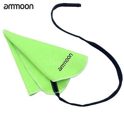ammoon Clarinet Piccolo Sax Saxphone Cleaning Cloth fr Inside Tube NEWGreen K6F3
