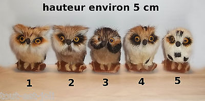 chouette, hibou, animal de collection, 5 cm, owl, uil, envoi gratuit    ***G