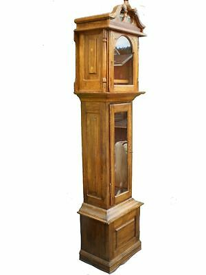 Clock Cases Made of Hardwood Can be Fitted With Franz Hermle Clock with Chime