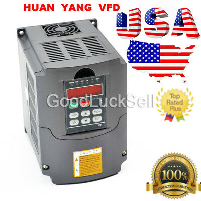 2.2Kw 220V Variable Frequency Drive Inverter Vfd 3Hp 10A Usa Local Fast Ship