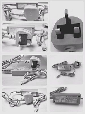 New AC Power UK Adapter Wall Charger Charging for nintendo wii u Game pad