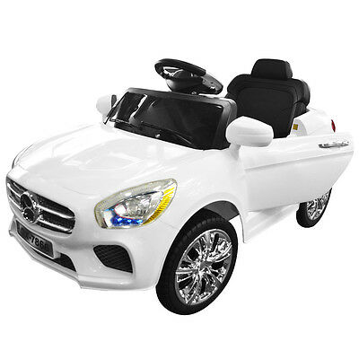 Kids Ride On Car 6V Electric Battery RC Radio Remote Control Children Toys Gift