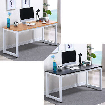 New Office Computer Laptop Wooden Desk Study Table Workstation Home Furniture