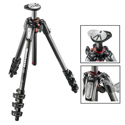 New In Box Manfrotto MT190CXPRO4 Carbon Fibre Tripod with Horizontal Column