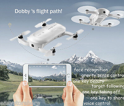 ZEROTECH DOBBY Mini Selfie HD 13MP 4K 1080P Camera with Do.Fun APP RC Quadcopter