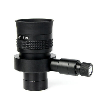 """New 1.25"""" FMC 70 Degree Super Wide Angle 20mm Illuminated Eyepiece w/ Reticle"""