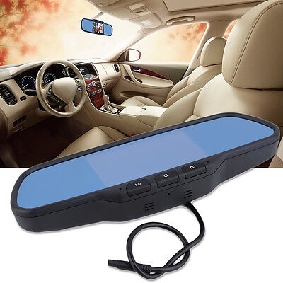 5 inch HD Rear View Mirror GPS WIFI Car DVR Dual Camera Recorder for Android NR