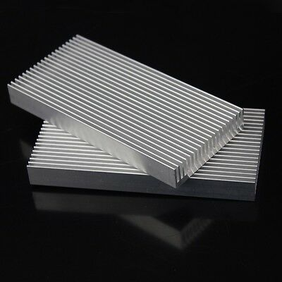 100mm 100x48x11mm Electronic Computer equipment IC Chipes Aluminum Heatsink
