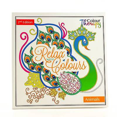 Adult Colouring Therapy Anti-Stress Adult Colouring Book Relax 60 - Animals