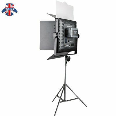 UK GODOX LED1000 Changeable Version LED Video Light with 2M Light Stand Kit